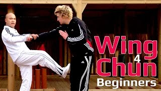 Wing Chun for beginners lesson 50: Punch drill with stomp kick
