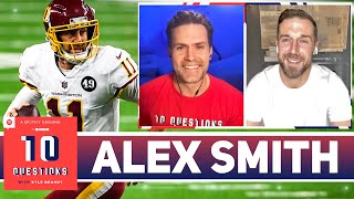 Alex Smith Shares His NFL Comeback Story, Plus Playing With a Rookie Patrick Mahomes   10 Questions