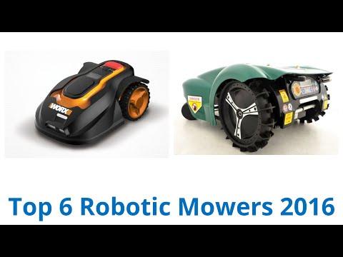 6 best robotic mowers 2016. Black Bedroom Furniture Sets. Home Design Ideas