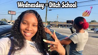 leaving school to go do girl tingz with my bestfriend *sorry mom*