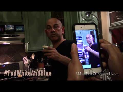 WalterBiscardi.com | Cooking with Simon Majumdar | #FedWhiteAndBlue