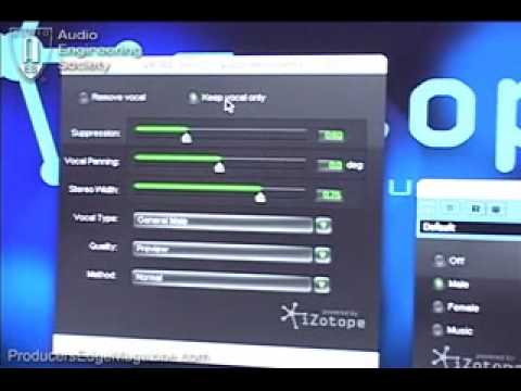 Izotope vocal eraser activation code