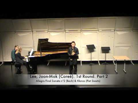 Lee, Joon-Mok (Coreé). 1st Round. Part 2.m4v