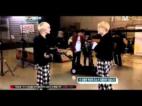 TaeMin & Key singing- cute parts! :D