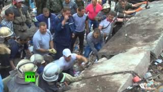 Малыша спасли из-под завала после украинского авианалёта
