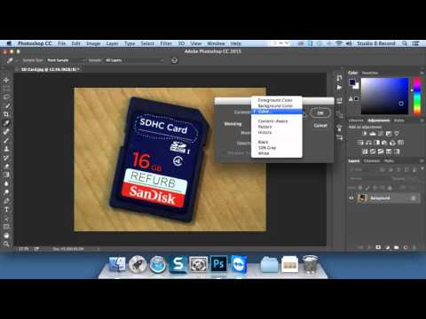 Destructive vs. Nondestructive Editing - Photoshop CC 2015 Test Prep tutorial