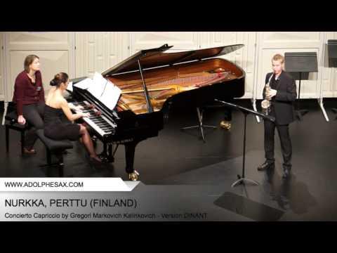 Dinant2014 NURKKA Perttu Concierto Capriccio by Gregori Markovich Kalinkovich Version DINANT