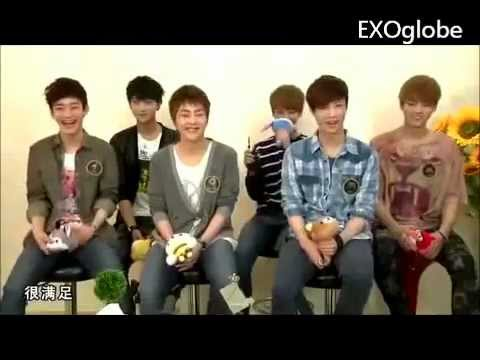 (Eng Sub) EXO-M Funny Moment #1 Nicknames?