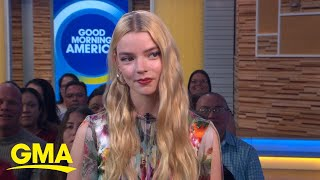 Actress Anya Taylor-Joy creates playlists for the characters she plays | GMA