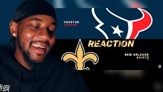Texans vs. Saints Week 1 Highlights   NFL 2019 🏈 REACTION