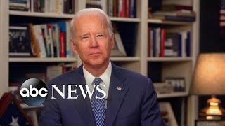 '(Democrats) may have to do a virtual convention' amid coronavirus: Joe Biden | ABC News