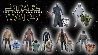 Star Wars Episode VII The Force Awakens Armor Series Action Figures Set of 7 by Kids Toys and Crafts