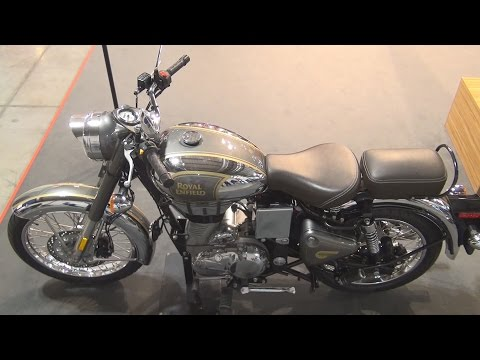 @RoyalEnfield Classic Chrome (2017) Exterior and Interior in 3D