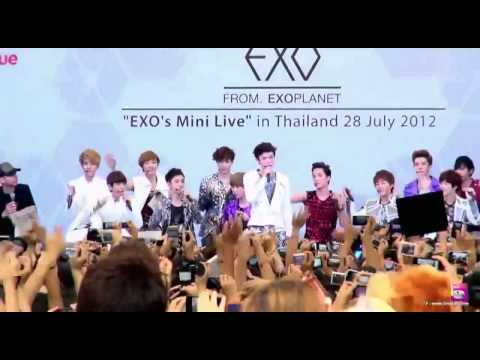 [HD][Eng Sub][Full]120728 EXO Mini Live in Thailand