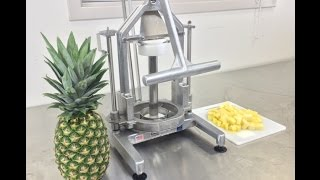 Cubing A Pineapple