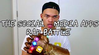 The Social Media Apps Rap Battle