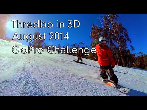 Thredbo GoPro Challenge in 3D - GoPro Dual Hero 3D Version