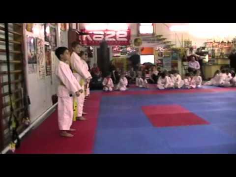 Экзамен по каратэ 24 ноября 2013 года в клубе Тигренок.ч.3