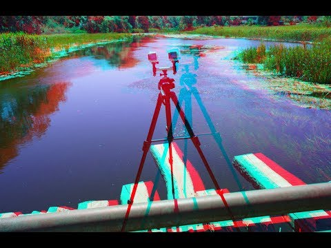 Best 3D ! River Photoshoot ! Incredible beauty ! 3D VIDEO