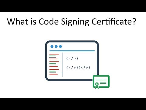 What is Code Signing Certificate - a Digital #Software Signing Technology