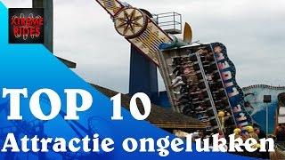 Top 10 Attractie ongelukken