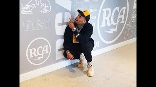 Chris Brown's RCA Visit