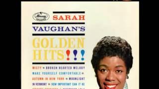 Sarah Vaughan -- Broken Hearted Melody