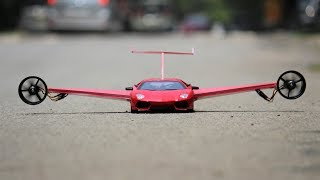 How to make a Airplane - Aeroplane Car - Lamborghini