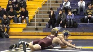 133 lbs Joe Roth CMU VS Mac McGuire KSU