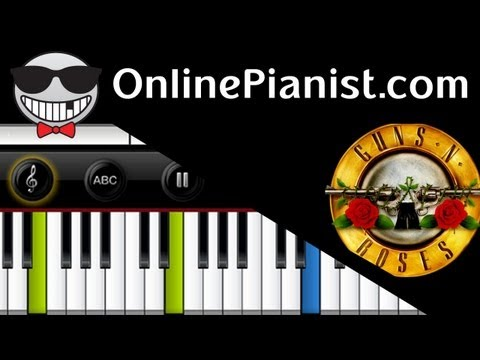 Guns N' Roses - November Rain - Piano Tutorial