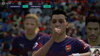 fifaonline4/ full team arsenal leo rank thê giới