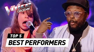 EXTRAORDINARY PERFORMERS in The Voice Kids