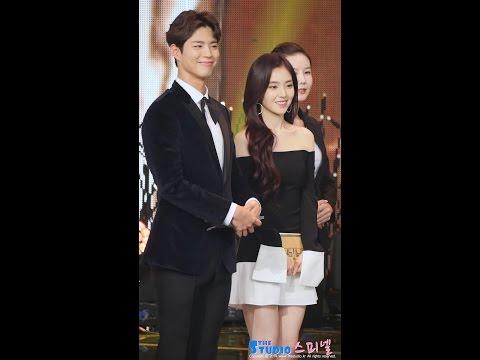 161224 레드벨벳 아이린 박보검 시상 직캠 Red Velvet Irene fancam (KBS 연예대상) by Spinel