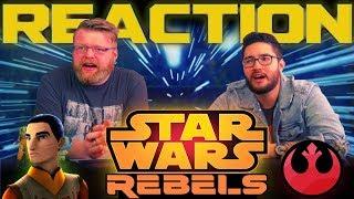 Star Wars Rebels Mid-Season 4 Trailer REACTION!!