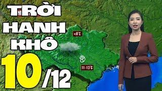 Dự báo thời tiết hôm nay và ngày mai 10/12   Dự báo thời tiết đêm nay mới nhất