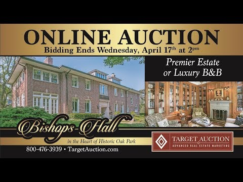 AUCTION: Premier Residence or Luxury Turnkey B&B in Oak Park (Chicago), IL. Auction Ends April 17th.