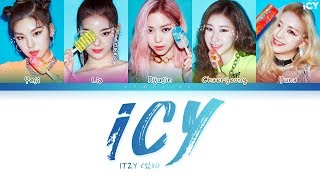 ITZY - ICY (있지 - ICY) [Color Coded Lyrics/Han/Rom/Eng/가사]