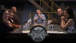 Cast of S.H.I.E.L.D. Roundtable - Marvel's Agents of S.H.I.E.L.D. 100