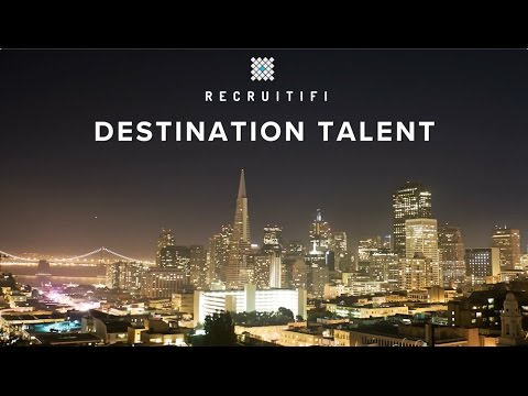 RecruitiFi's Destination Talent SF 2016 - Highlight Reel