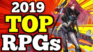 TOP Mobile RPG's 2019 - (Gacha/Hero Colllectors, MMO's,RPGs)