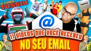 11 vídeos VIRAIS que você recebeu NO SEU EMAIL