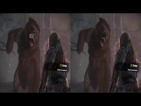 Rise of The Tomb Raider Oculus Rift VR : 1080p SBS TriDef 3D Zeiss Head Tracking EYOH The Revenant
