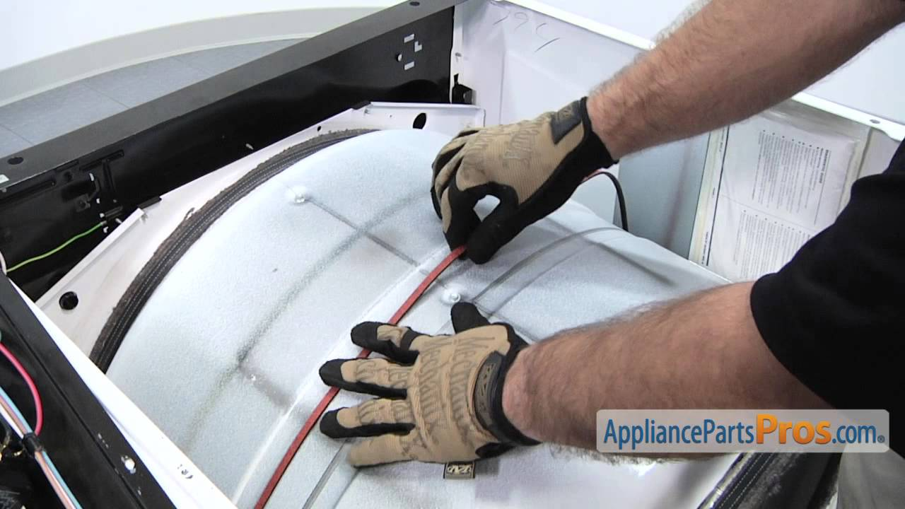 Duet Dryer Drum Belt Part 661570 How To Replace Youtube