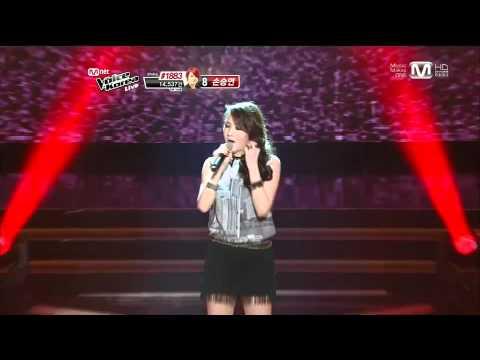 보이스코리아 시즌1 - 이소정-빗속에서(이문세) 보이스코리아 the voice 12회