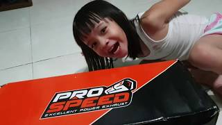UNBOXING PRO SPEED SCOOTER XMAX 250 BY EXTREME MOTOR SPORT