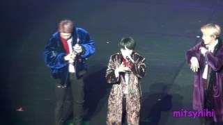 170320 BTS The Wings Tour in Brazil Fancam Part 12 - VCR + Cypher pt 4 + FIRE