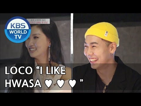 Hwasa & Loco finally meet ♥ ♥ ♥ [Hyena On the Keyboard/ 2018.05.02]