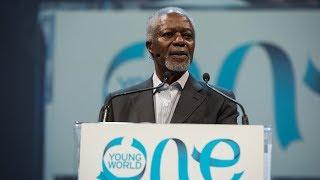 Kofi Annan, a man of peace in a world torn by strife