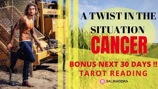 CANCER BONUS NEXT 30 DAYS - SOMEONE IS READY TO WALK AWAY FOREVER?