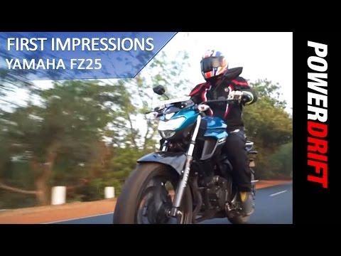 Yamaha FZ 25 First Ride : PowerDrift